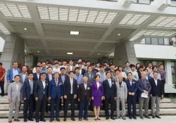 전남대학교졸업작품전 기념단체사진